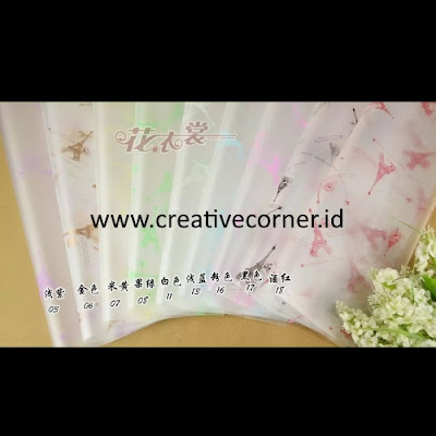 Kertas Buket Bunga / Hand Bouquet Seri WM-060060-Paris
