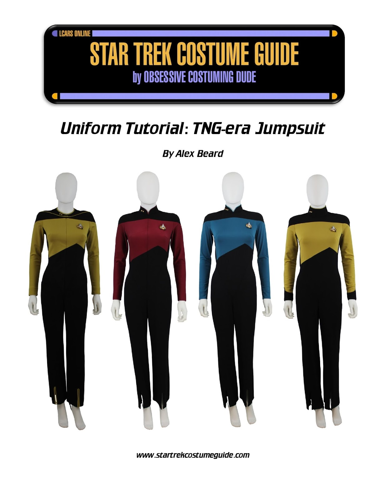 TNG jumpsuit sewing tutorial