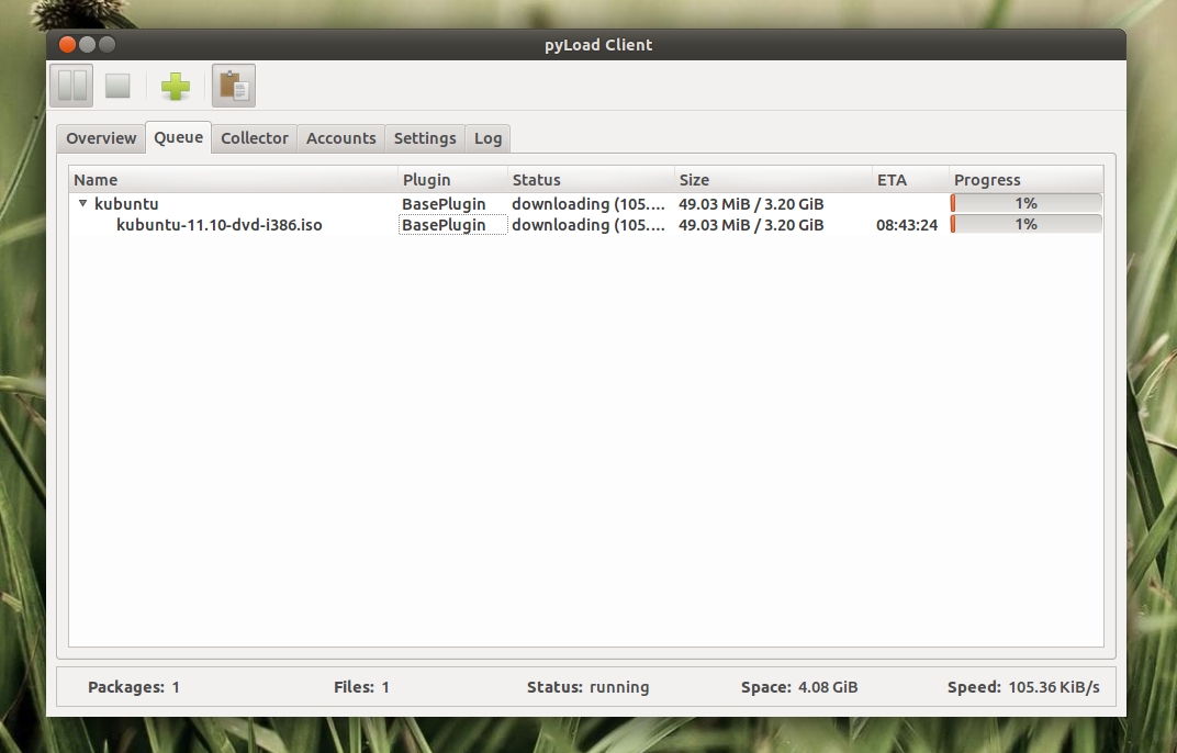 pyLoad: Lightweight Download Manager For One-Click Hosters