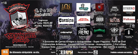 Rock In Hell Do Campo Festival IV: Evento Promete Incendiar o Alto Vale