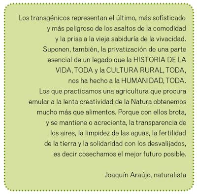 Araújo transgénicos