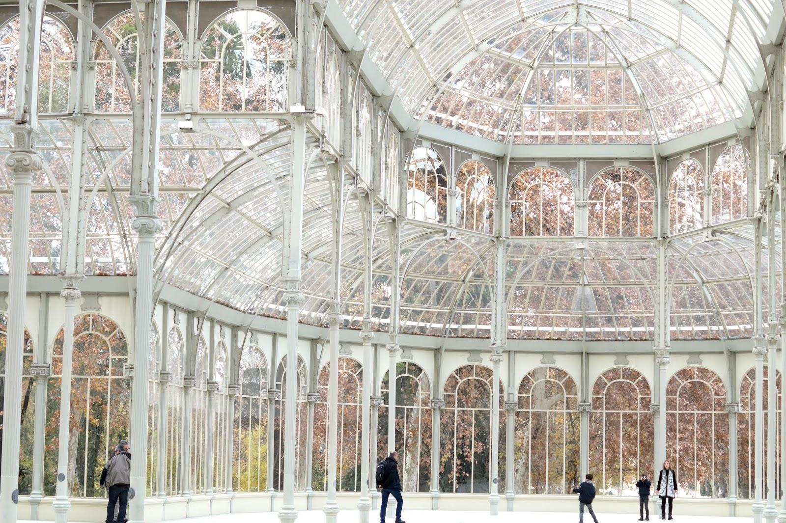 visite gratuite palais cristal madrid
