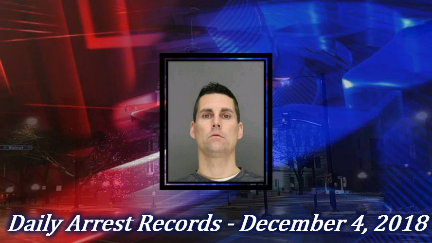 Green Bay Crime Reports: Daily Arrest Records - December 4