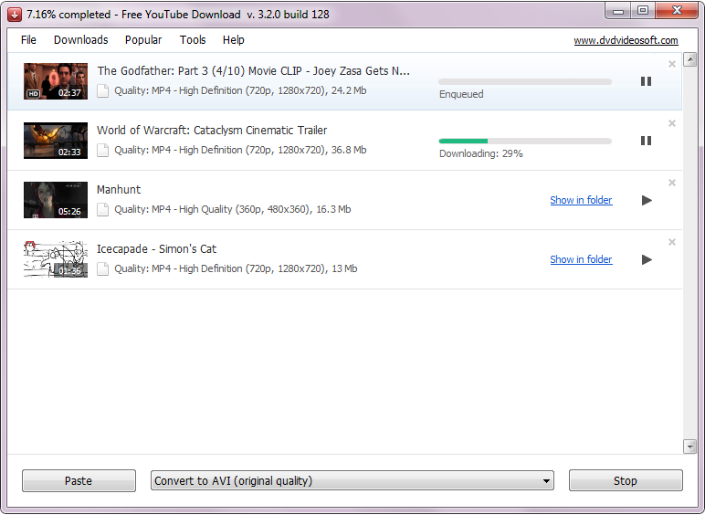 تحميل برنامج tube video downloader