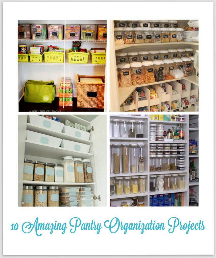 {home} kitchen pantry ization ideas mirabelle