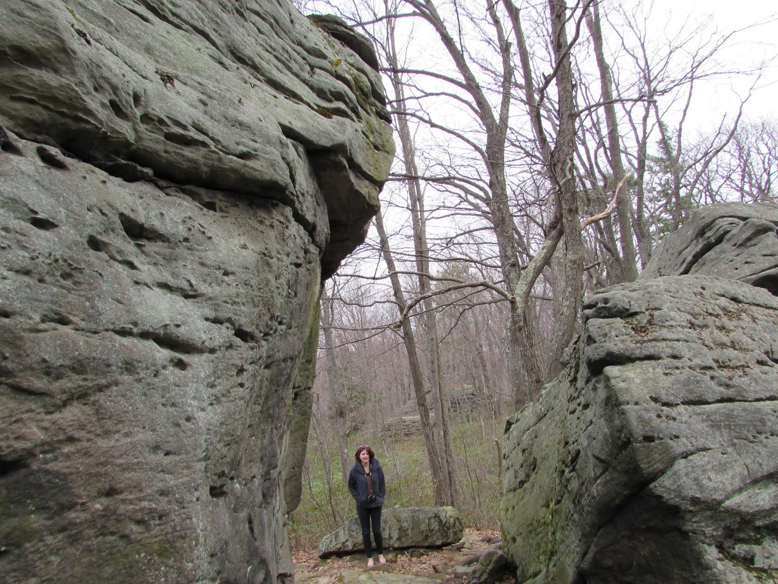 Bear Creek Pa >> Beartown Rocks: A Rock City in Clear Creek State Forest ...