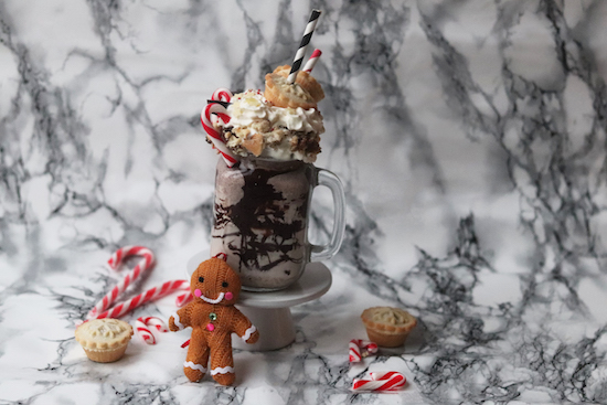 Mince Pie Freak Shake Recipe