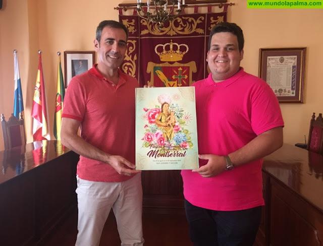 La obra 'Festejos a María', del creador Abián Lázaro, se alza con el premio del Cartel Anunciador de las Fiestas en honor a Nuestra Señora de Montserrat