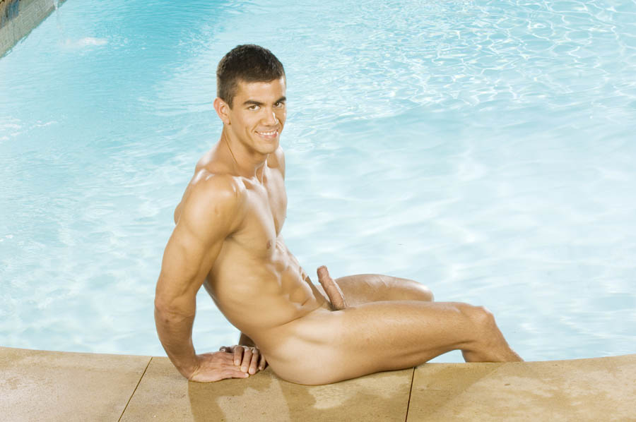 naked men in swimmers