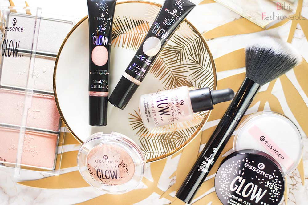essence trend edition glow like Flatlay