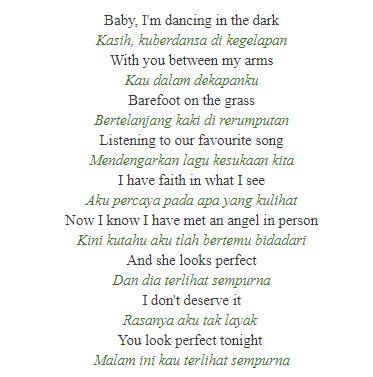 Perfect Ed Sheeran - Terbaru