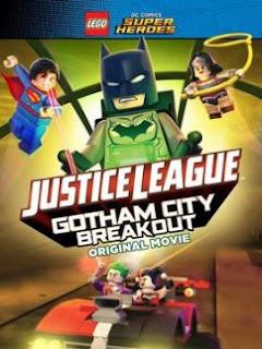 Film Lego DC Comics Superheroes Justice League – Gotham City Breakout (2016) 720p HDRip Sub Indo