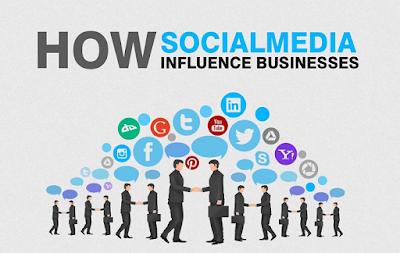 Pengaruh media sosial untuk bisnis