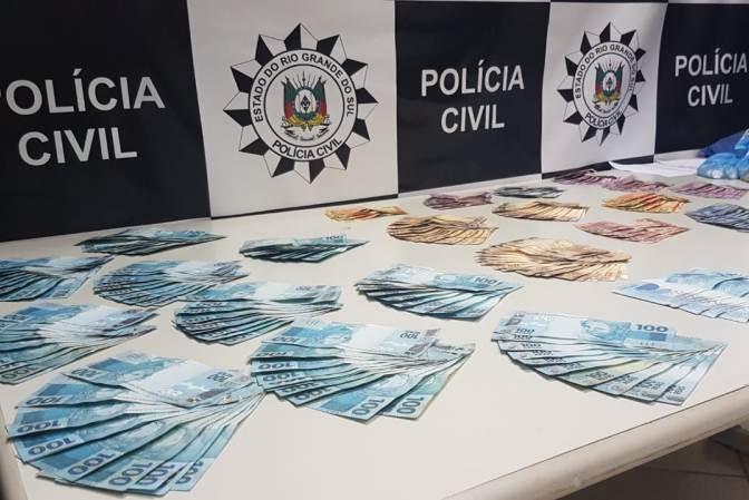 Combate ao crime de lavagem de dinheiro cumpre quatro mandados em Gravataí