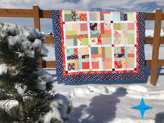 New Pattern Coming Soon! Scrap-O-Dealy-O Quilt