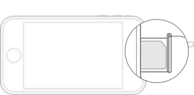 كيفية ازالة وتركيب البطاقة SIM Card على ايفون