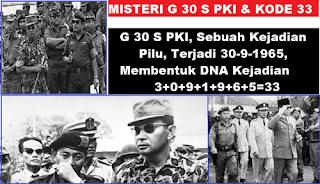 Fakta dan Peristiwa (Sebenarnya) Peristiwa G30S/PKI