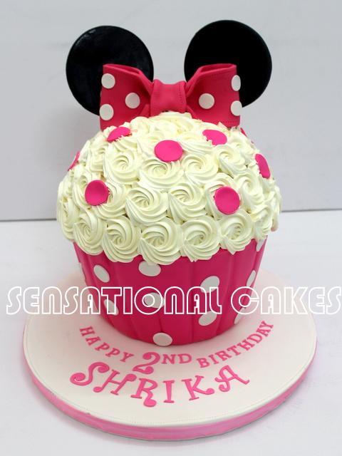 The Sensational Cakes Minnie Mouse Theme Giant Rosette