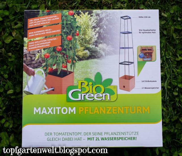 Bio Green | Tomaten Topf mit Wasserspeicher - Gartenblog Topfgartenwelt