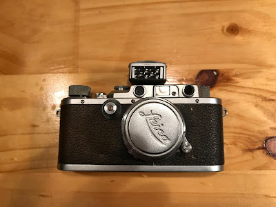 Leica IIIa with Leicameter2