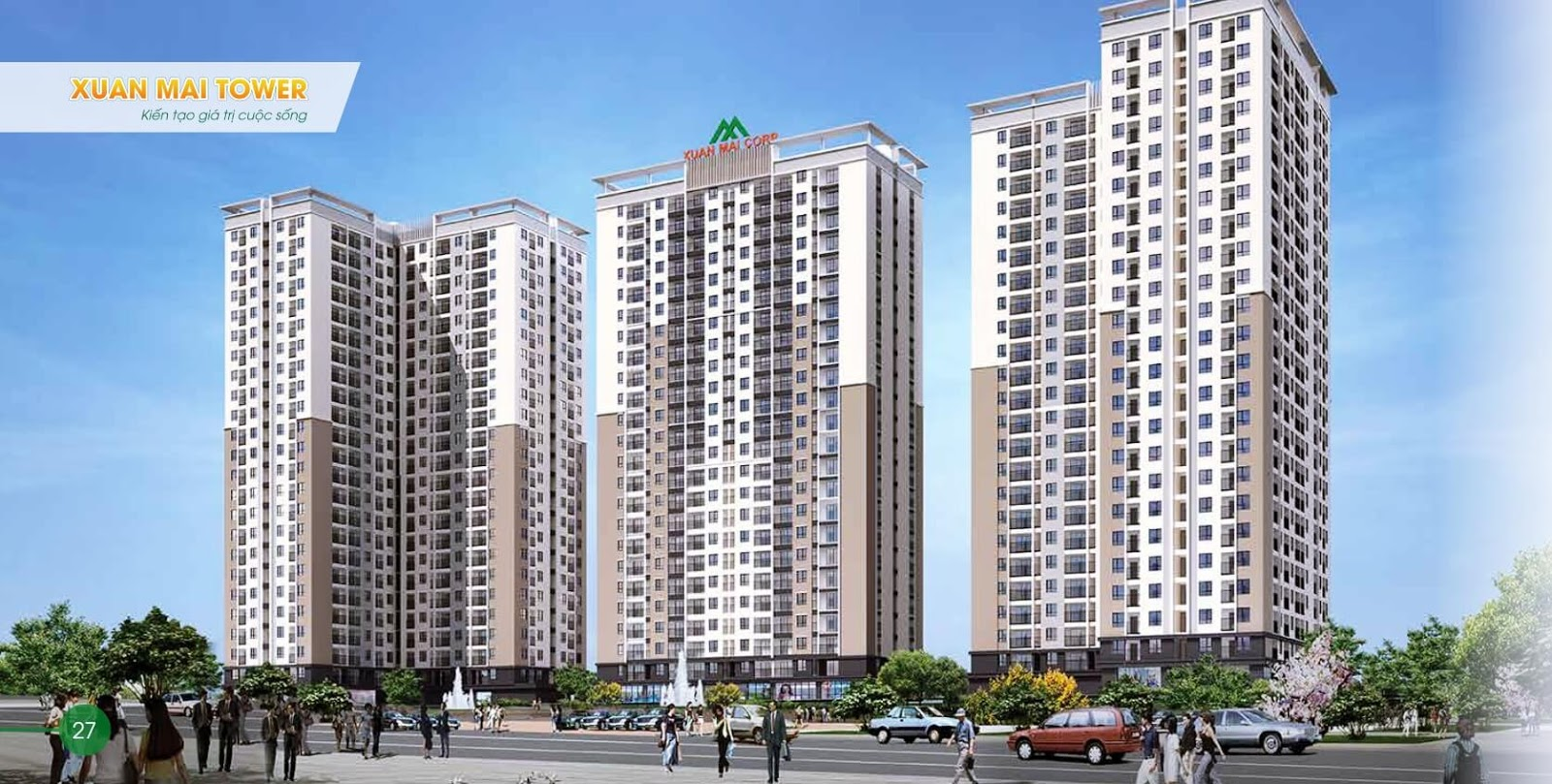 Xuân Mai Tower - Biểu tượng mới ngay giữa trung tâm Thành phố Thanh Hoá