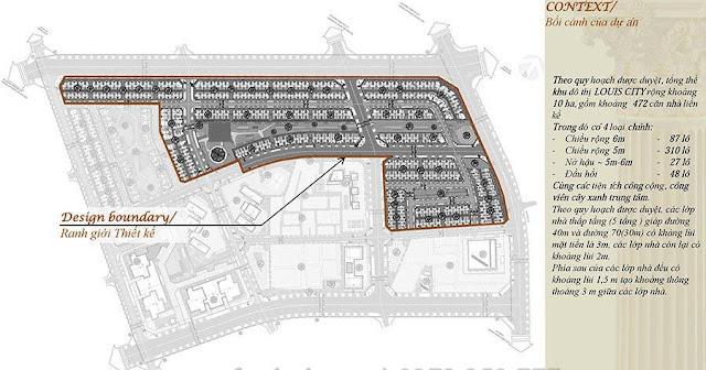 Toàn khu dự án Louis City Đại Mỗ