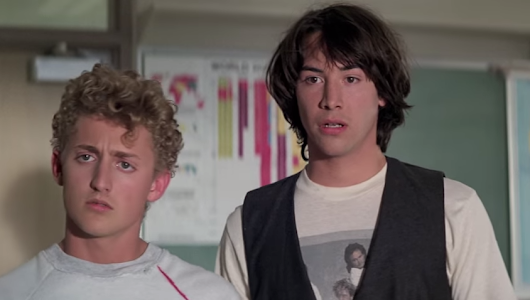 MOVIE REVIEW: Bill and Ted's Excellent Adventure (1989)