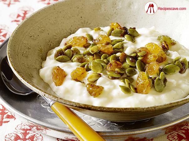 Rice Pudding Pumpkin Seeds