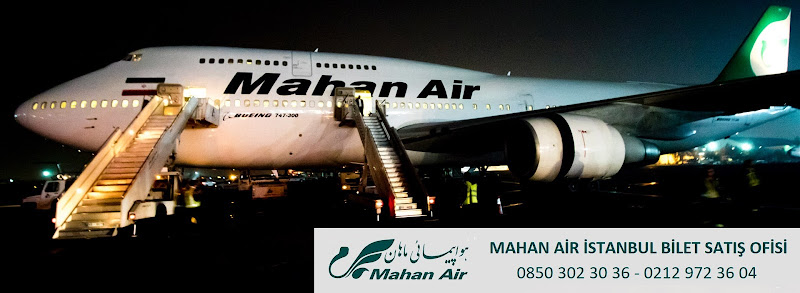 Mahan Air Eyüp Şubesi Bilet Satis Ofisi