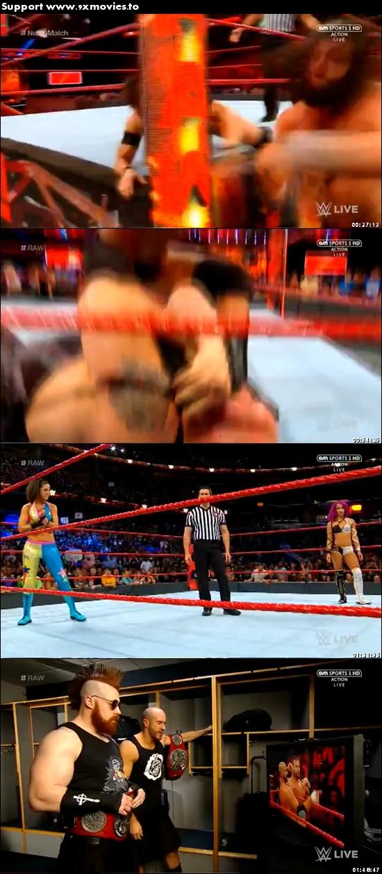 WWE Monday Night Raw 24 July 2017 HDTV 480p 500mb