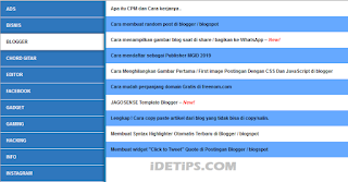 How to  : Cara membuat sitemap di blogger seo dan responsive 2019