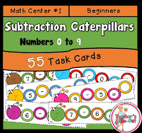 Subtraction Caterpillars