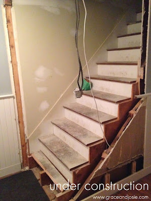 Renovating Stairs