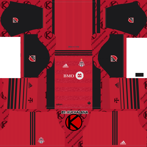 size 40 9a169 e5cd2 Toronto FC Kits 2018 - Dream League Soccer - Kuchalana