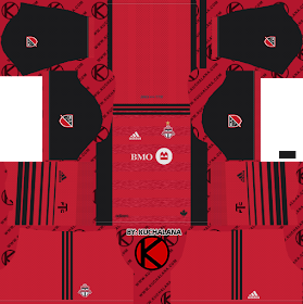 Toronto FC Kits 2018 - Dream League Soccer