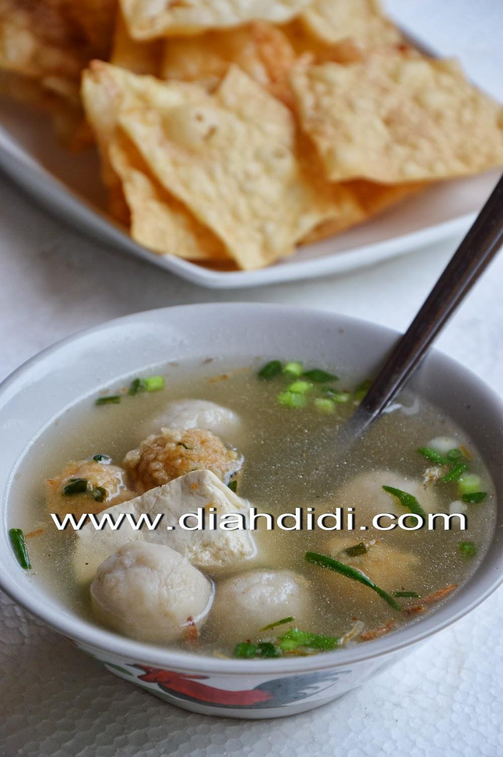 Resep Bakso Ikan Tenggiri : resep, bakso, tenggiri, Didi's, Kitchen:, Bakso, Homemade