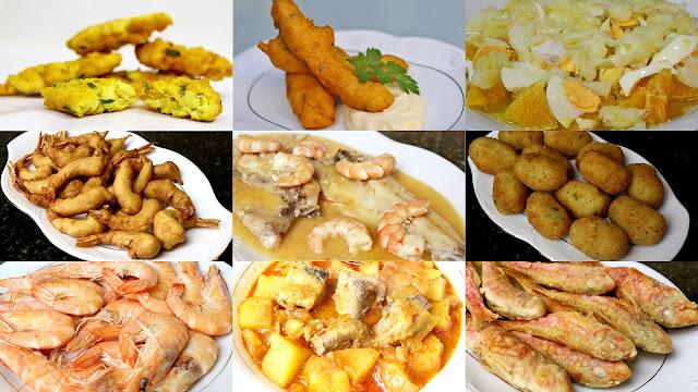 Recetas fáciles de pescados y mariscos