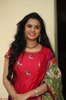 Manasa in Pink Salwar At Fashion Designer Son of Ladies Tailor Press Meet Pics ~  Exclusive 14.JPG