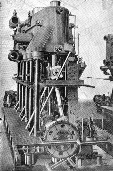 Steam Ship Engine Room: Waratah Revisited: September 2013