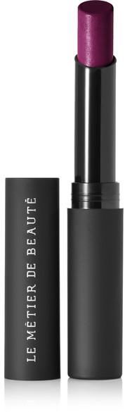 lemetier de beaute moisture matte lipstick in smoke