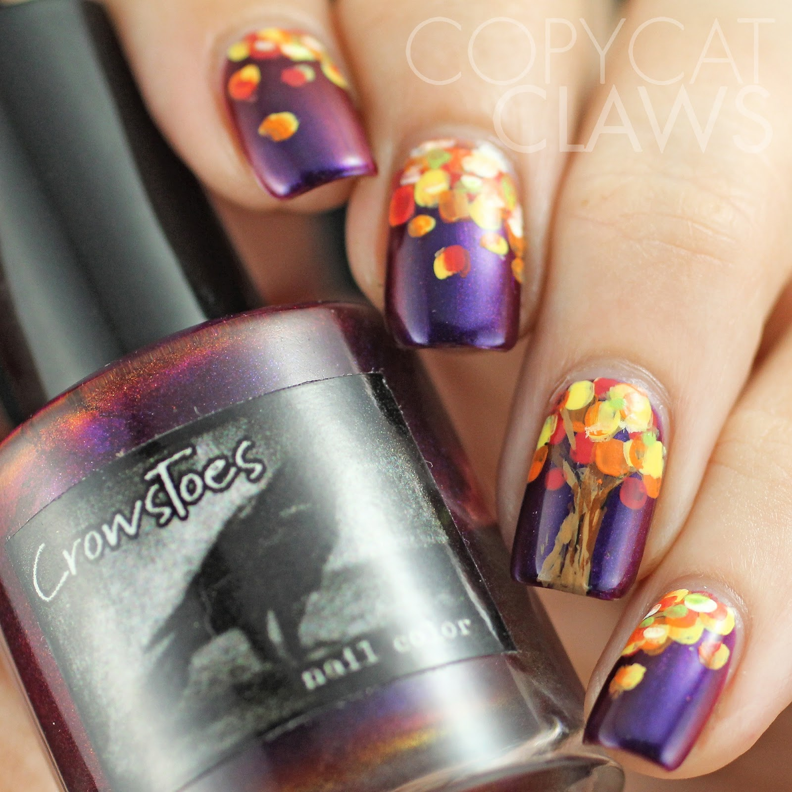 Funky Fall Nail Stickers Pictures - Nail Art Ideas - morihati.com