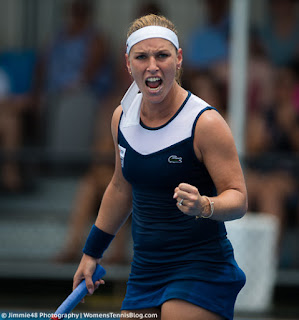 Resultado de imagen de foto de cibulkova en el torneo de sydney 2018