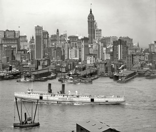 From New York City: NYC Vintage: New York City: Turn Of The Century Images