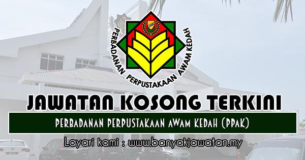Jawatan Kosong 2019 di Perbadanan Perpustakaan Awam Kedah (PPAK)