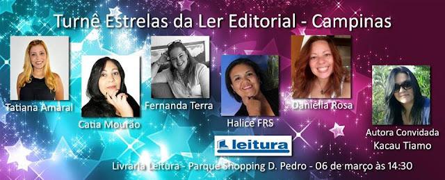 [Evento] Estrelas da Ler Editorial - Campinas