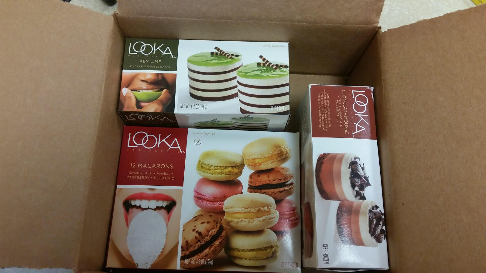 LOOKA Patisserie French Desserts Review and Giveaway Ends 7/14 via ProductReviewMom.com #frenchdesserts