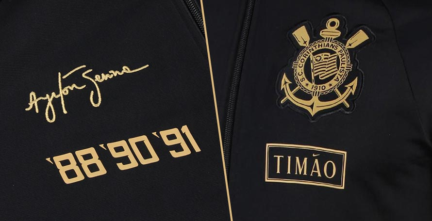 Following up on the on the black-and-gold third kit dedicated to the late F1  driver and fan of the club 53d03af51
