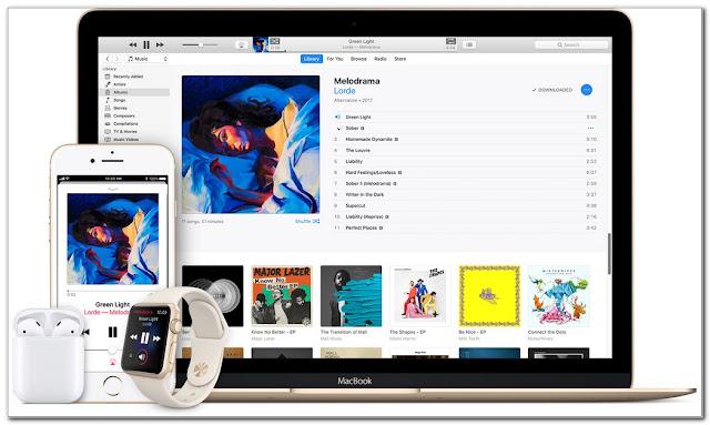 aplikasi musik online Apple Music