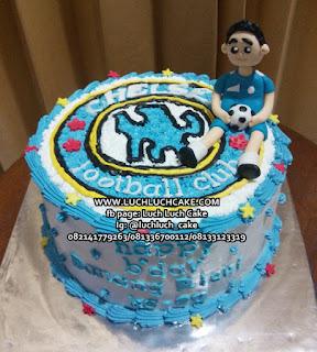 Birthday Cake Chelsea Kue Tart Bola