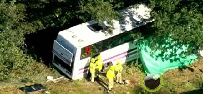 Bestival Fest Bus Insident